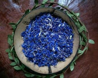 Dried Cornflower Petals | Blue Cornflowers | Plastic Free | Flower Confetti | Dried Herbs