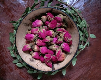 Large Red Rose Buds | Plastic Free | Flower Confetti | Dried Herbs