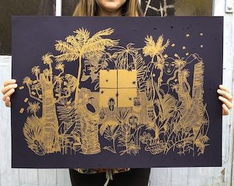 RITUAL - Mathilde OLIVIER // Screenprint