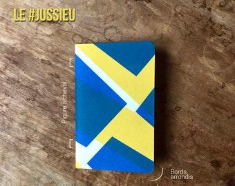 Pocket notebooks - #JUSSIEU // Screenprint