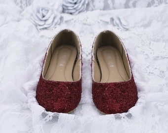 Red glitter shoes  3db26c321
