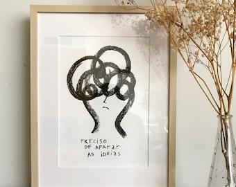 Despent illustrations, giclée A3