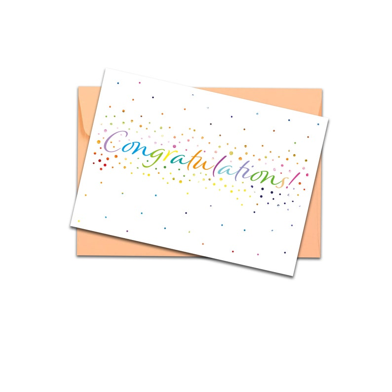 Proud Of You New Job Card Engagement card Well Done Card Congratulations card Congratulations Pregnancy Card New Home Card
