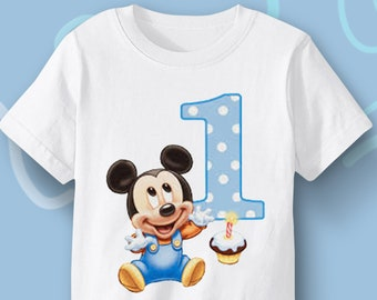 First Birthday Baby Gift 1 Yo Present Mickey Mouse For Babies Year Old Boy Girl Disney