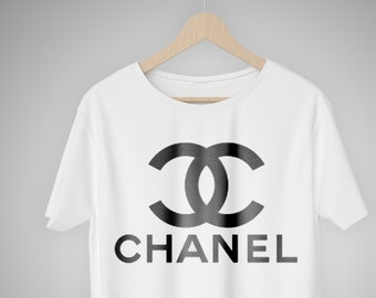 220e46761 Classic Chanel Logo t shirt, Coco Chanel classic t shirt, Chanel Fashion  for men and women, Cult Chanel Vintage Logo