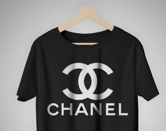 dde8bc71 Classic Chanel Logo t shirt, Coco Chanel classic t shirt, Chanel Fashion  for men and women, Cult Chanel Vintage Logo