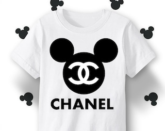60c2a83c6d74 Cool Mickey Mouse Chanel t shirt