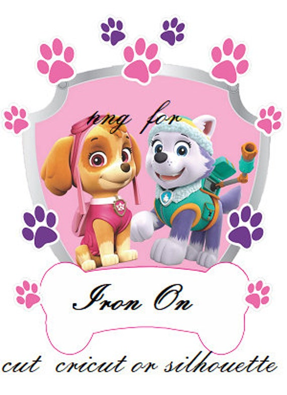 Skye Everest Paw Patrol Iron On Transfer Template
