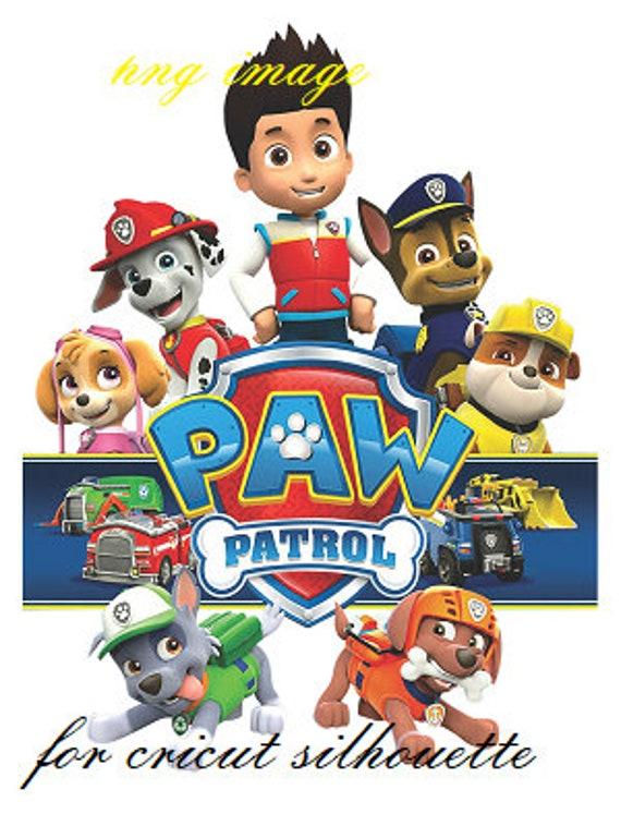 Paw Patrol Iron On Transfer Template
