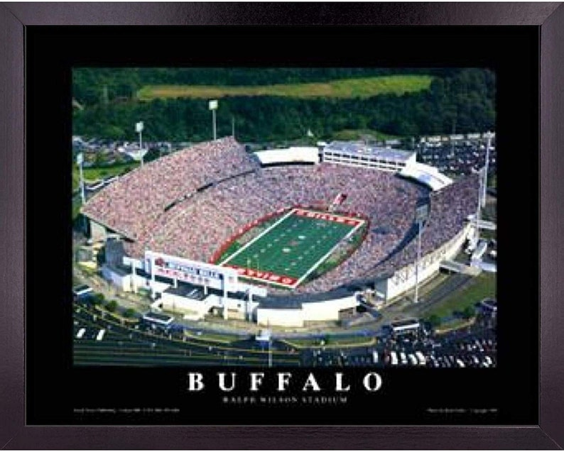 Buffalo Bills NFL Football Ralph Wilson Stadium Aerial View | Etsy
