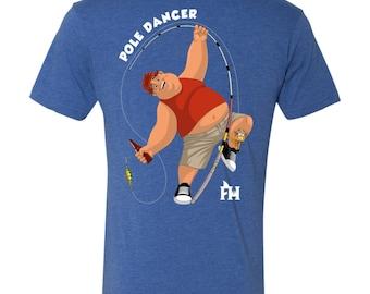 Pole Dancer - NL6010 Men's Triblend T-Shirt