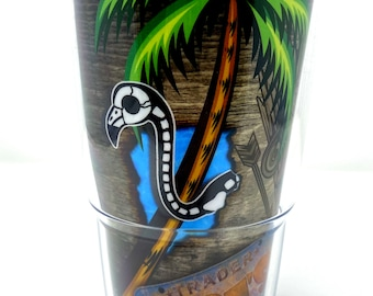 Custom Tiki Tumbler | Tervis 24 oz | Alligator | Fishing | Flamingo | Boating | Swamp | Tiki