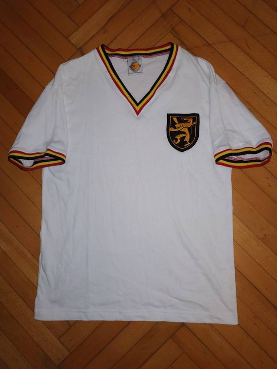 Belgium national football team 1960s away jersey v