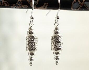 Silver Dangle Earrings, Handmade Silver Earrings, Dangle And Drop Earrings, Beautiful Bohemian Earrings, Unique Jewellery Gift for Woman,