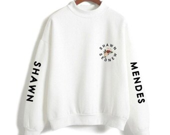 6996d8aa5218 Shawn Mendes Sweatshirt Loose Oversized fit Merch print Unisex