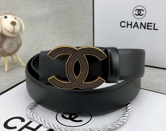 Chanel leather belt brand new with BOX and receipt a094f8ef4e45