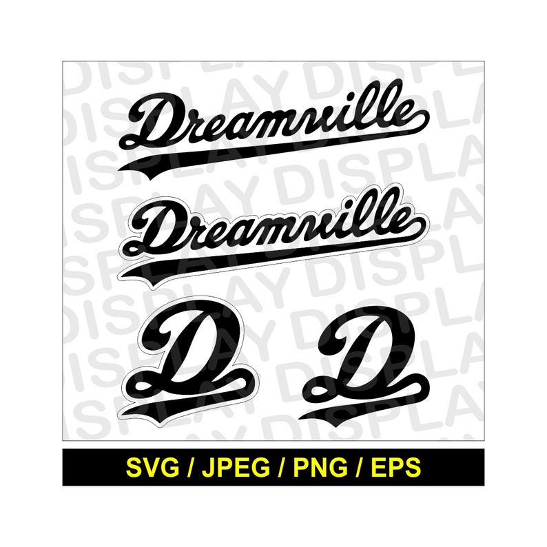 604c6096b32b2 J.Cole Dreamville SVG Inspired Clipart EPS Png Dxf and JPEG