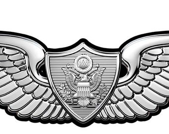 Army Master Aircrew MOS Wings all Metal Sign Small 7 x   Etsy
