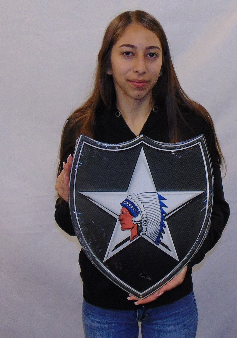 2nd Infantry Division All Metal Sign
