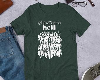 1745e666 Elevator to Hell t shirt Short-Sleeve Unisex T-Shirt