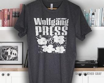 Wolfgang Press t shirt band Short-Sleeve Unisex T-Shirt
