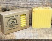 Handmade Bar Soap, Lemon Bar