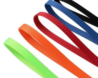 Special soft nylon webbing for cat collars, dog collars 10mm, 15mm, 20mm, 25mm