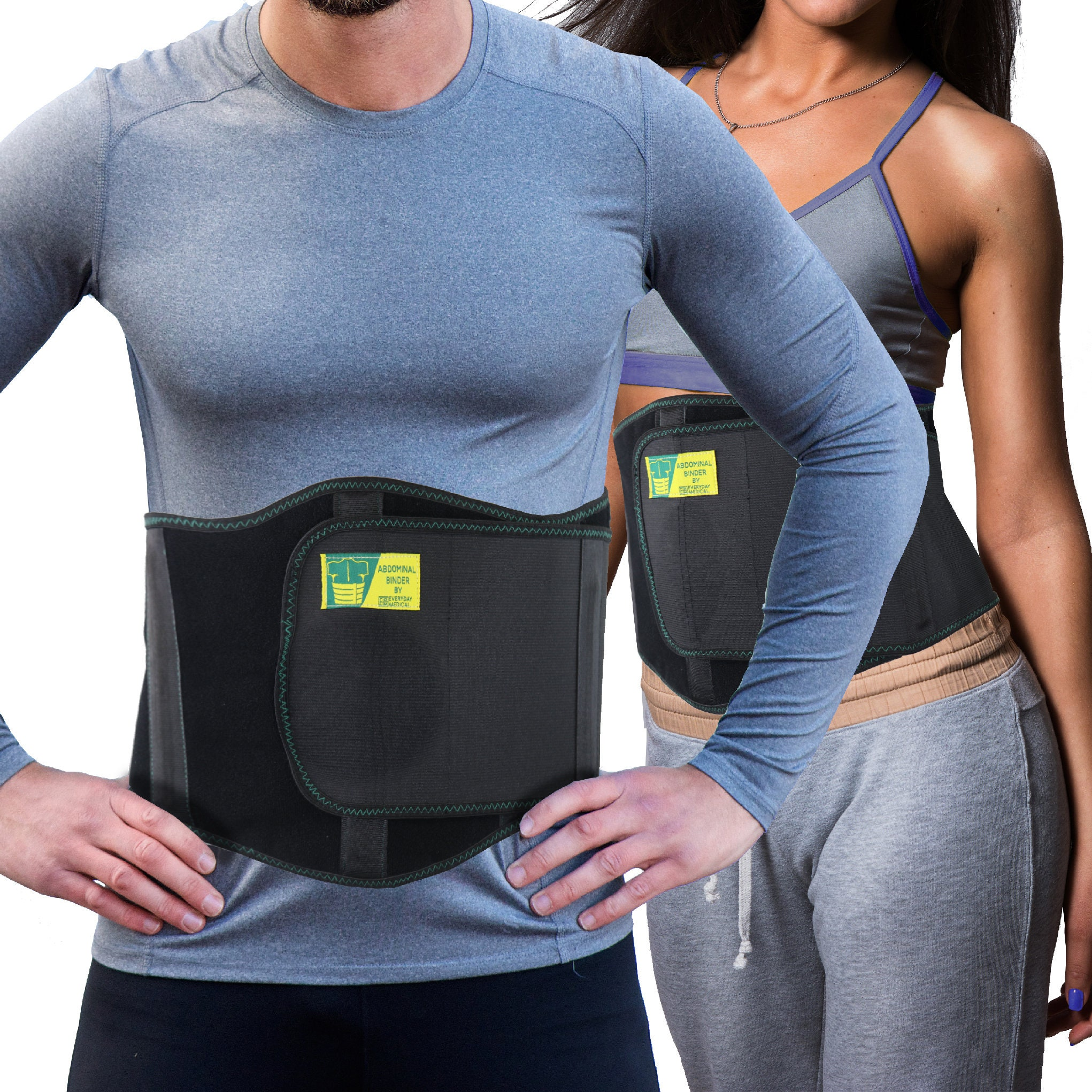 Umbilical Hernia Belt Ergonomic Abdominal Hernia Support For Men And Women By Everyday Medical