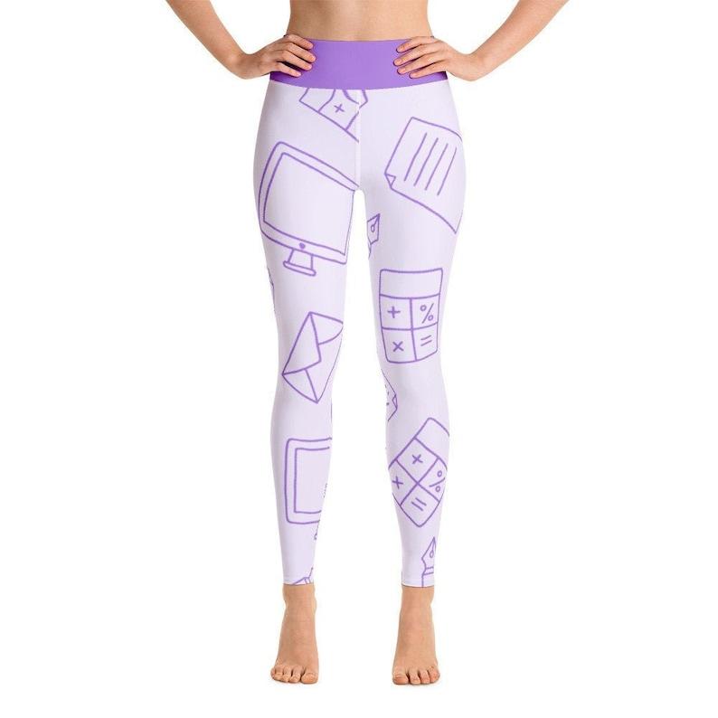 Science Math computer calculator printed Leggings for Women yoga leggings College School womens Clothing Women yoga Pants women Fitness Gym