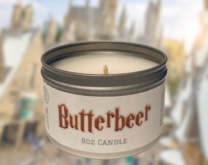 Featured listing image: Butterbeer Candle *FREE SHIPPING*