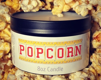 Popcorn Candle *FREE SHIPPING*