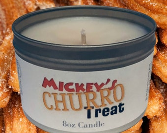 Mickey's Churro Treat Candle *FREE SHIPPING*