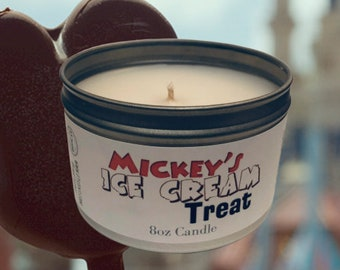 Mickey's Ice Cream Treat Candle *FREE SHIPPING*