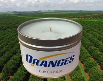 Oranges Candle *Free Shipping*