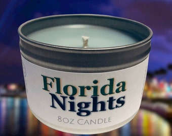 Florida Nights Candle *FREE SHIPPING*