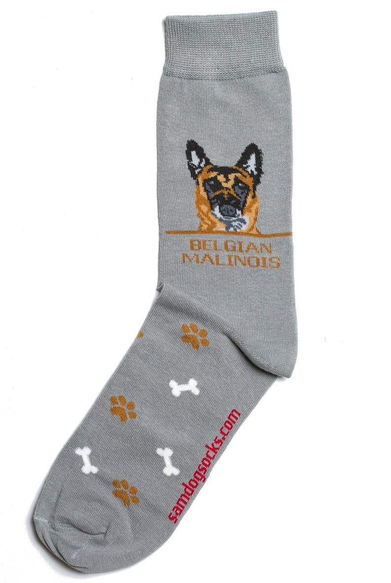 Belgian Malinois Dog-Socks Mens