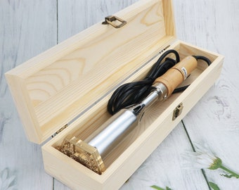Custom Electric wood Branding Iron - 150w 300w electric power iron - Branding Iron with electric heater - branding iron for woodworking