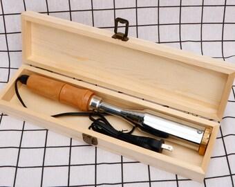 Custom Electric Branding Iron For Wood, Electric power iron, Branding Iron with electric heater, Branding iron for woodworking