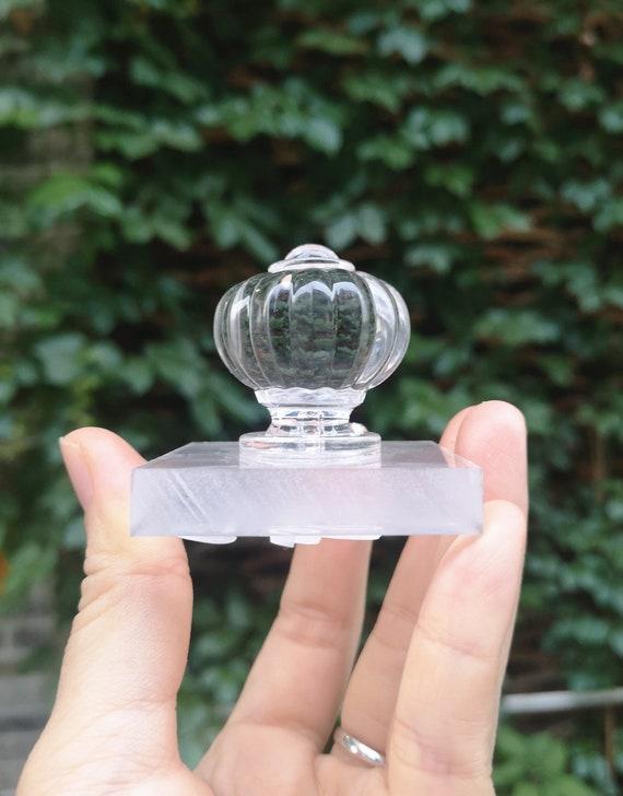 DIY Acrylic crystal Transparent girl soap stamp,Crafter Stamp Custom Soap Stamp,Customized Personalized Clear Hard Acrylic cookie stamp