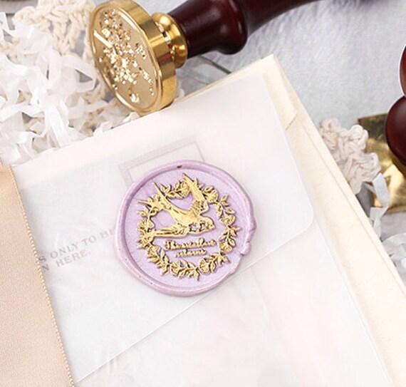 Snow mountain and galaxy Wax Seal Stamp Custom Sealing Wax Stamp stars seals stamp Wedding Invitation Wax Stamp box set