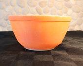 Vintage, Pyrex, 402, Nesting, Mixing bowl. Orange