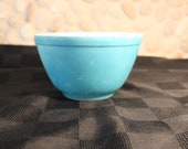 Vintage, Primary Blue, Pyrex Nesting Bowl, 401