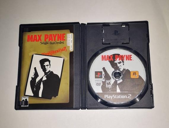 Max Payne Ps2 Tested Cib Etsy