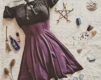 Rhiannon Dress - Witch Dress - Ritual Magick Dress