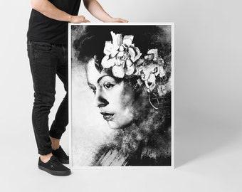 Billie Holiday - Poster Giclée Print