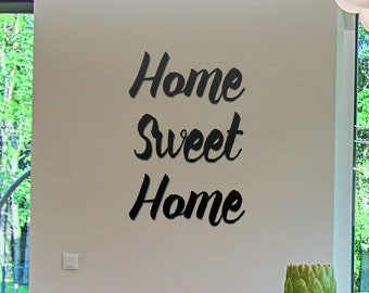 Unique Personalised Laser Cut Acrylic Lettering. Have this wall art read ANYTHING you want Your slogan on Your wall! Letters made in London.