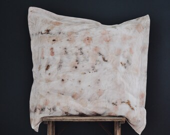 Pillowcases/natural dye/100% cotton/63x63cm