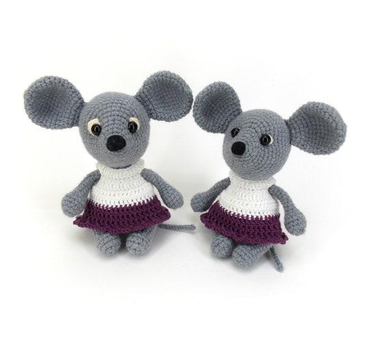 Adorable crochet baby mouse pattern - Free crochet pattern ... | 511x570