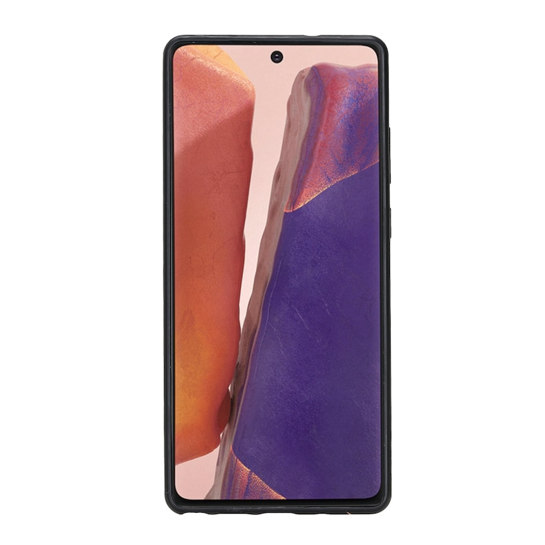 Galaxy Note 20 Ultra Extra Secure with Padded Back Cover -Rainbow Venito Lucca Leather Case Compatible with Samsung Galaxy Note 20