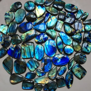 40 Carat 30x24x7mm AAA Grade Quality Multi Fire Labradorite Cabochon,Natural  Labradorite Gemstone,Loose Gemstone,For jewelry Making